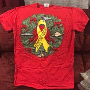*FINAL PRICE* Support Our Troops holiday shirt
